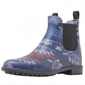 Joules Shoes - Joules Welly Rainboot Rockingham Chelsea Short